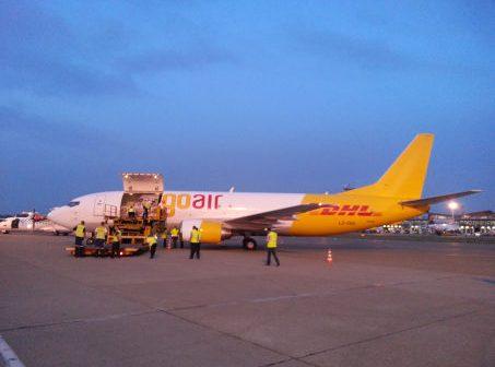 Novi avion za transport DHL-ovog materijala iz Srbije i u Srbiju