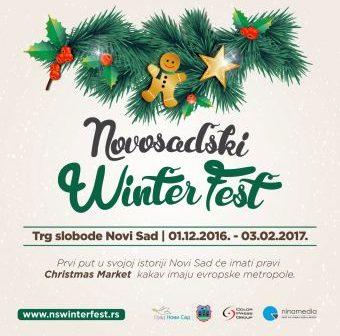 """Najava: Svečano otvaranje prvog """"Novosadskog Winter Festa"""""""