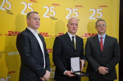 DHL Srbija obeležio 25 godina poslovanja u Srbiji i najavio nove  usluge i investicije