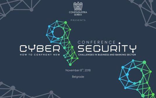 Najava: Cyber security konferencija Konfindustrije Srbija