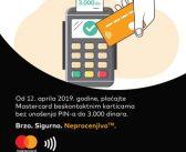 Novine za korisnike Mastercard kartica