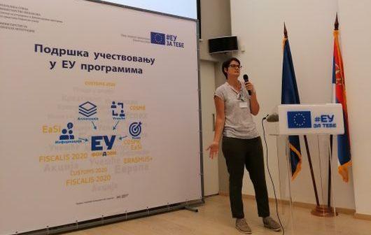 Podrška učestvovanju u EU programima