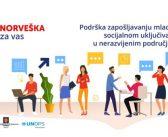 Kraljevina Norveška pomaže zapošljavanje mladih u Srbiji sa 500.000 evra