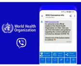 Svetska zdravstvena organizacija i Rakuten Viber udružuju snage u borbi protiv dezinformacija o COVID-19